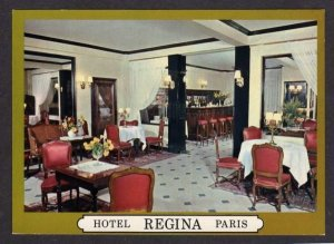 France Hotel Regina Le Grill Bar Place Pyramides Paris Postcard Carte Postale