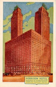 IL - Chicago. Morrison Hotel