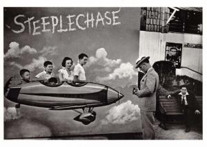 Postcard Steeplechase, Coney Island, USA 1947 by Lucien Algner #47