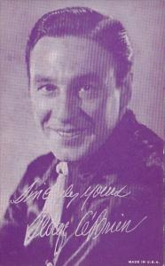 Vintage Arcade Card George O'Brien