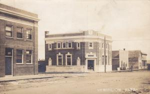 RP: Main Street (dirt) , at The Canadian Bank of Commerce , VERMILION , Alberta