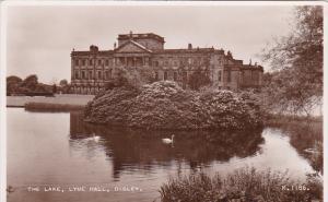 RP, The Lake, Swans, Lyme Hall, DISLEY (Cheshire), England, UK, 1920-1940s