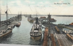 TAMPA , Florida , 1909 ; The Port