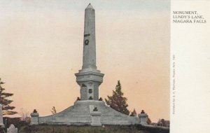NIAGARA FALLS, Ontario, Canada, 10-00s; Monument, Lundy's Lane