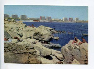407473 USSR 1974 Kazakhstan city Shevchenko coast Caspian Sea postal stationery