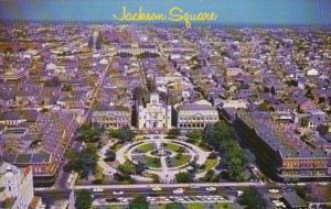Louisiana New Orleans Jackson Square Aerial View