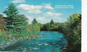 Wisconsin Greetings From Platteville 1973