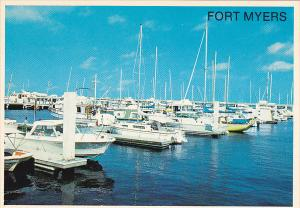 Yacht Basin At Fort Myers Florida