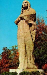 Oregon Lowden State Park Black Hawk Statue
