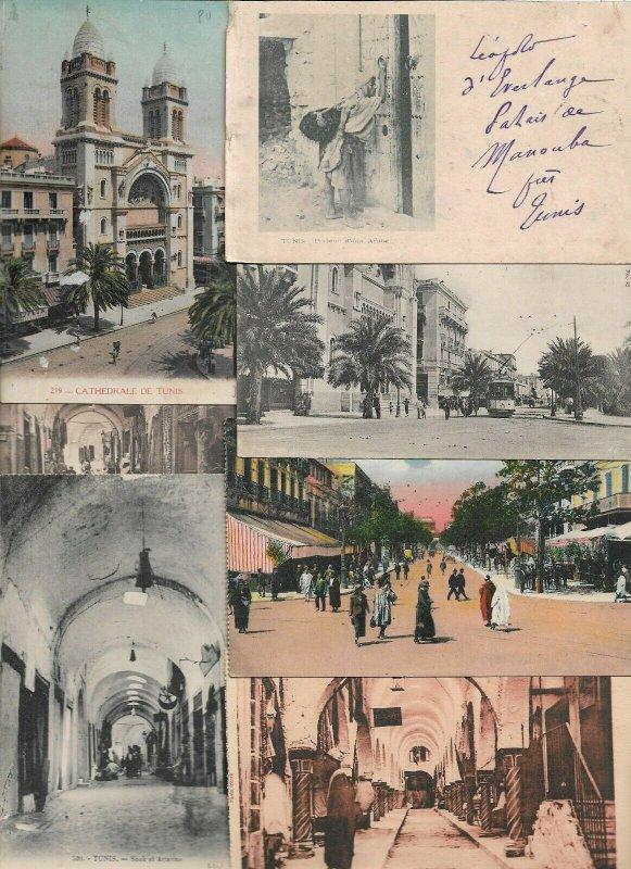 Tunisia Postcard Lot of 20 Tunis  01.16