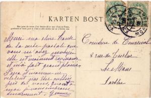 CPA Départ des Mariés Bretons aprés la Féte FRANCE FOLKLORE (789408)