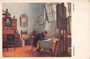 B27491 Art Peintures & Tableaux Josef Kopf Miniaturmaler