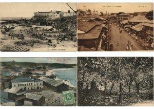 GHANA, GOLD COAST AFRIQUE AFRICA 35 CPA Pre-1950 (L3033)