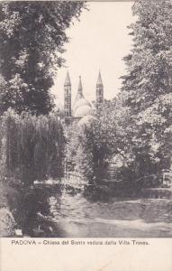 PADOVA, Veneto, Italy; Chiesa del Santo veduta dalla Villa Treves, 00-10s