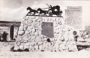 Arizona Wickenburg Massacre Monument Real Photo
