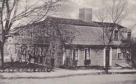 Massachusetts Plymouth The Kendall Holmes House 1653 Albrtype