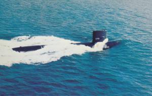 Submarine U.S.S. FINBACK SSN-670 , 1960s