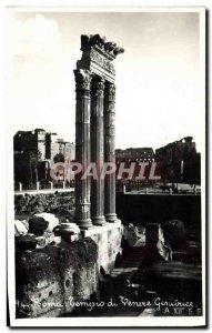 Old Postcard Roma Venere progenitor Tempio
