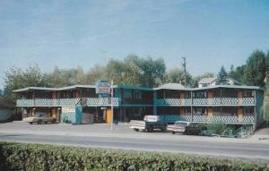 Blue Stream Motel , VERNON , B.C. , Canada , 40-60s