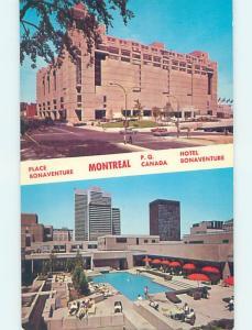 Pre-1980 HOTEL SCENE Montreal Quebec QC G9994
