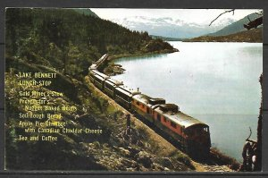 White Pass & Yukon Railway - Trains - [MX-487]