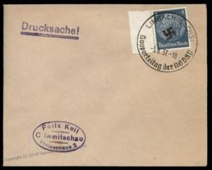 3rd Reich Germany 1937 Gauparteitag NSDAP Regional Party Meeting Cancel Co 88322