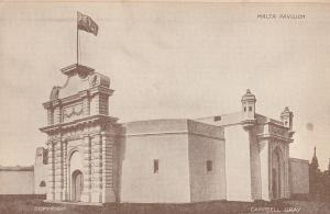 Malta Pavillion Antique Postcard