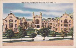 Presbyterian Theological Seminary, LOUISVILLE, Kentucky, PU-1940