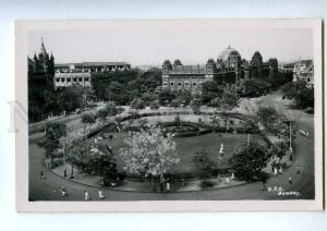 191954 INDIA BOMBAY General Post Office Vintage photo postcard