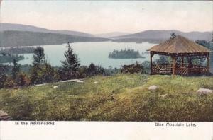 New York Adirondacks Blue Mountain Lake In The Adirondacks