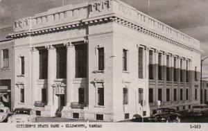 Kansas Ellsworth Citizen's State Bank Photo