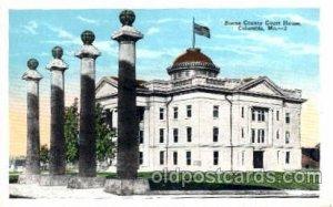 Columbia, Mo. USA s Boone County Court House Unused