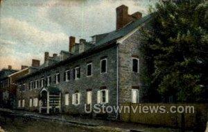 Widows House - Bethlehem, Pennsylvania