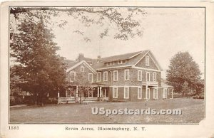 Seven Acres - Bloomingburg, New York