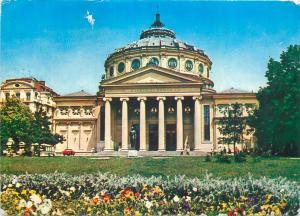 Romania Bucuresti ateneul roman old post card
