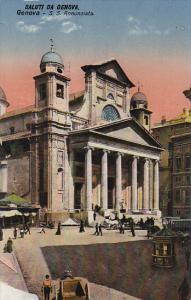 S. S. Annunziata, Saluti Da Genova, Genova (Liguria), Italy, 1900-1910s