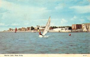 Merseyside, West Kirby Marine Lake Boats