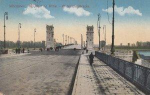 WARSZAWA , Poland , 1920 ; III. Most na Wisle