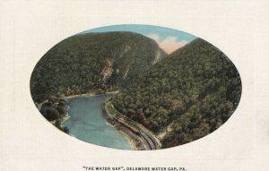 DELAWARE WATER GAP, Pennsylvania, 1930-1940's; The Water Gap