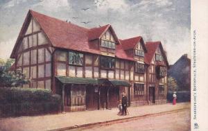 TUCK #774, Shakespeare's Birthplace, Stratford-On-Avon, Warwickshire, England...