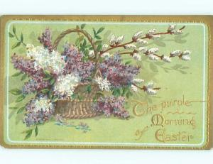 Divided-Back EASTER SCENE Great Postcard AA1274