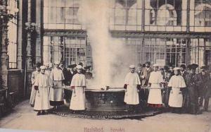 Interior, Sprudet, KARLSBAD, Czech Republic, 1900-1910s