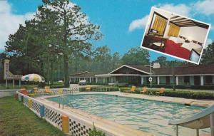 Swimming Pool,  Travelers Motel,  U.S. Hwy 15 North,  Walterboro,  South Caro...