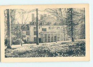 Pre-Chrome MUSEUM SCENE Winterthur - By Wilmington Delaware DE AG1345