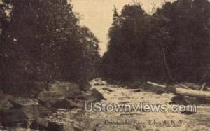 Oswegatchie River Edwards NY 1917