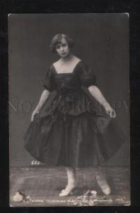 067895 LUKOM Russia BALLET Star vintage PHOTO 1917