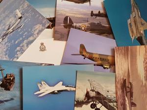 NEW Pack of 30 Aircraft Postcards Ideal for Postcrossing, all different