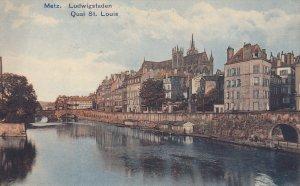 METZ, Moselle, France, 1900-1910's; Ludwigstaden, Quai St. Louis