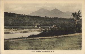 Groveton NH Percy Peaks c1910 Postcard