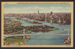 Tribourgh Bridge,New York,NY Postcard